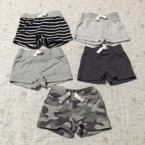 Bundle Of 5 Baby Boy Shorts